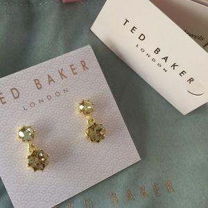 Ted Baker London Conolee Crystals Drop Earrings!